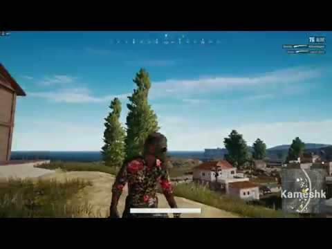 Pubg Black Floral Shirt And Vintage Gas Mask Showcase 3rd Person