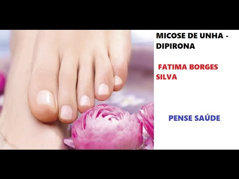 Como tratar Micose de Unha - Dipirona (nail mycosis - dipirona)