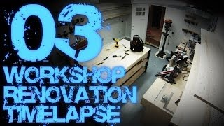 03. Workshop Renovation Timelapse 03 (with Progress Tour)