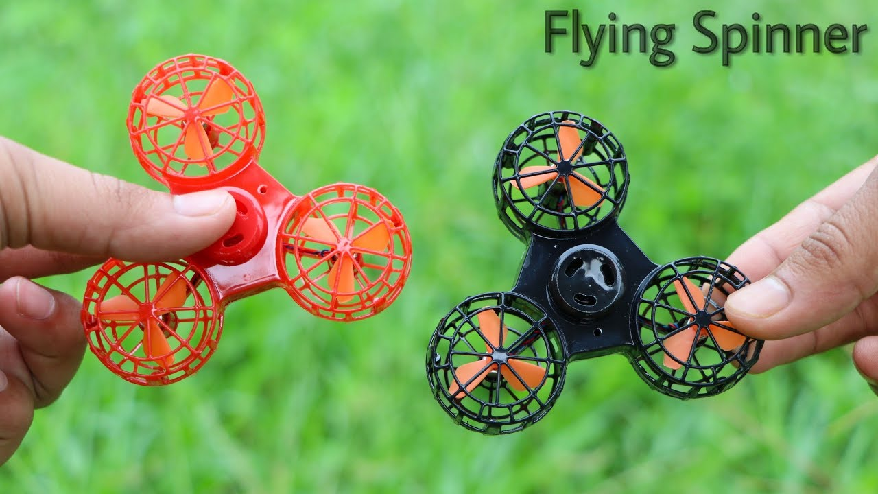 flying fidget spinner unboxing and flying test you can fly this fidget spinner drone youtube. Black Bedroom Furniture Sets. Home Design Ideas