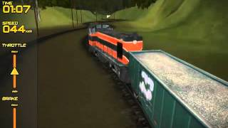 Freight Train Simulator (free indie game)