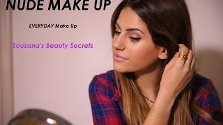 Nude Make Up/ Καθημερινό, nude μακιγιάζ