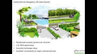 Godrej Eternity Flats in Kanakapura Road Bangalore