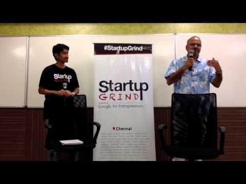 Sarath Naru (Ventureast) at Startup Grind Chennai
