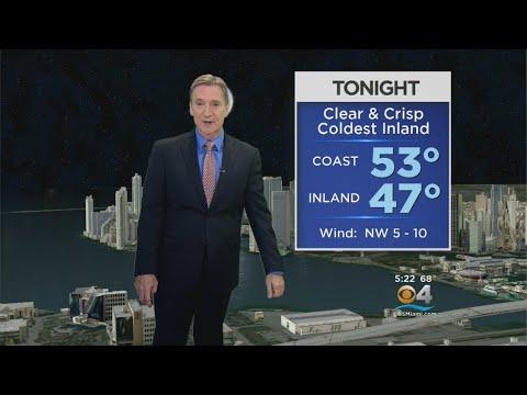 CBSMiami.com Weather @ Your Desk 3-22-18 6PM