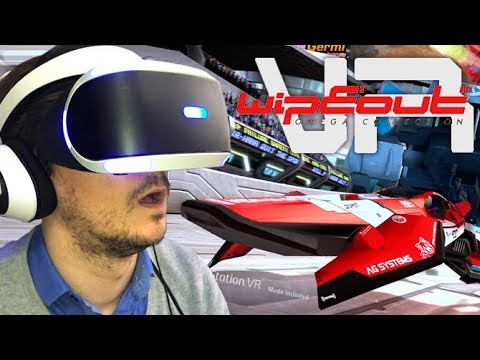 WipEout Omega Collection : On y a joué en VR, des sensations pures ?