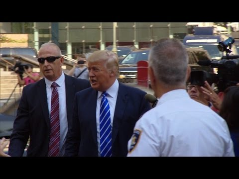Donald Trump's Relationship With Personal Bodyguard Goes Back 16 Years