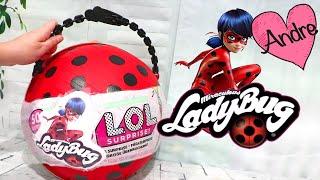 LOL Big Surprise DIY de Prodigiosa Ladybug | Jugando muñecas y juguetes con Andre para niñas y niños