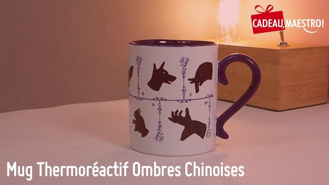 Chinoises Mug Maestro Ombres Cadeau Thermoréactif 3TK1JclF