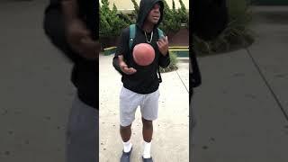 Bryun parham how to catch a football Mr.A