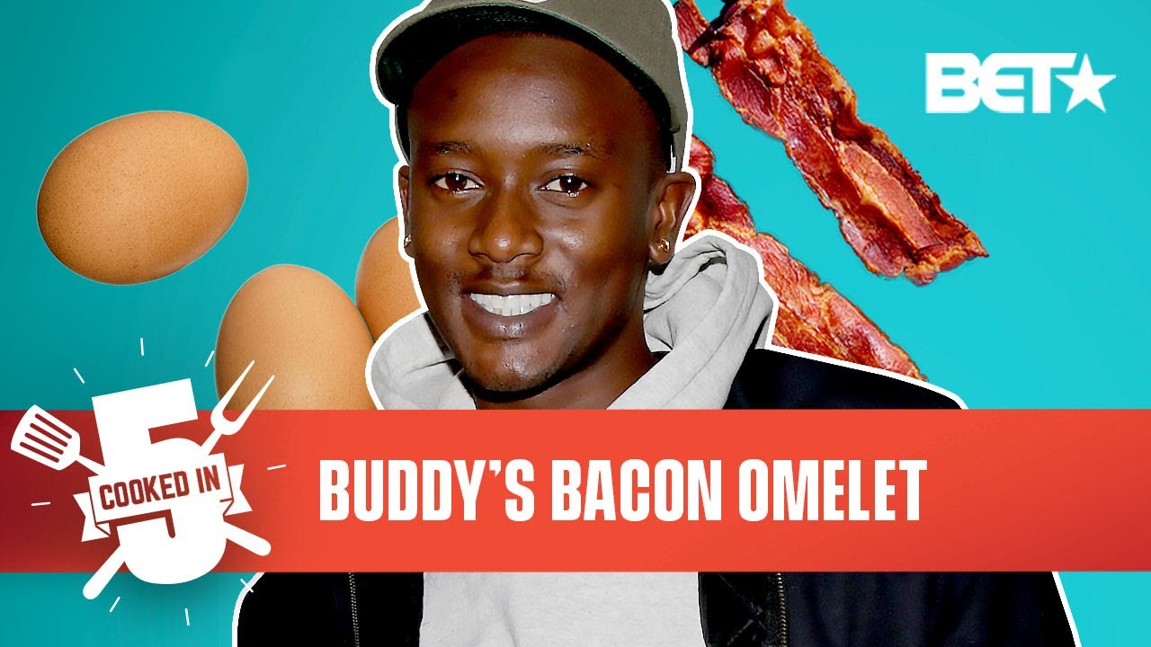 Buddy Tries To Make The Perfect Bacon Omelet Breakfast In Just 5 Minutes!   Cooked In 5