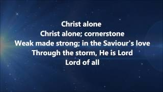 Cornerstone - Hillsong LIVE w/ Lyrics