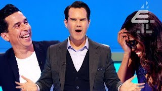 Jimmy Carr Gets Unexpectedly SLAMMED? | 8 Out of 10 Cats | Series 21