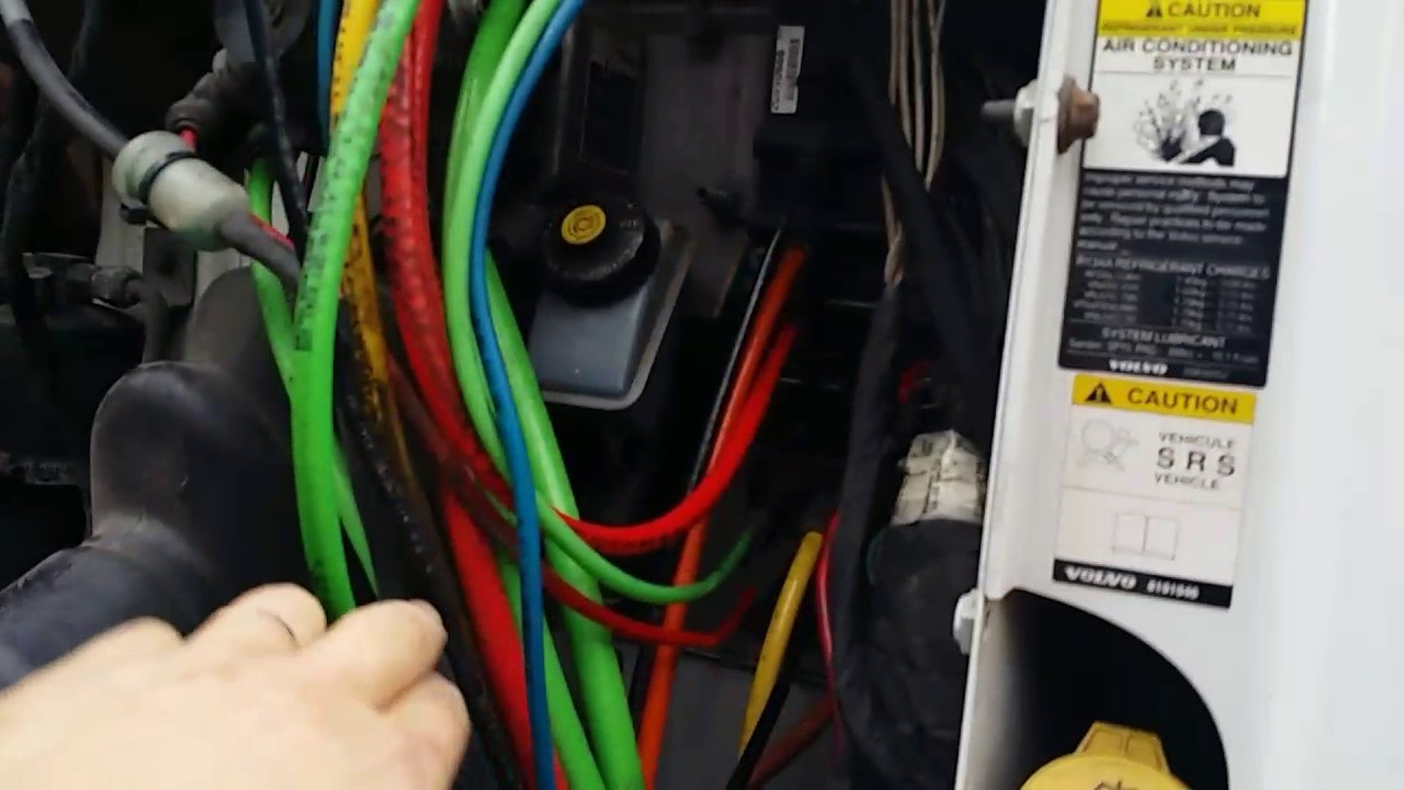 semi truck diagram jeep radio wiring quick connect air leak fix - youtube