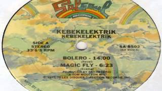 Kebekelektrik  -  Magic fly (at 33 RPM and pitch +8%)