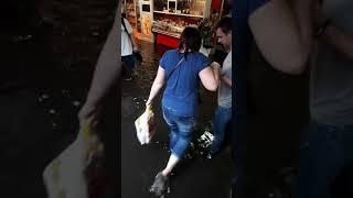 �������� ���� Шулявку затопило. Киев 25.07.18 ������