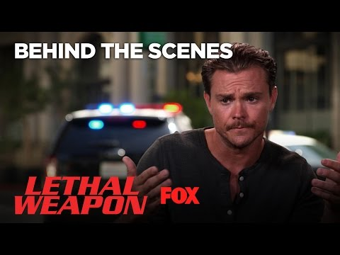 Lethal Moments: Clayne Crawford's Indy Car Stunt | Season 1 Ep. 1 | LETHAL WEAPON