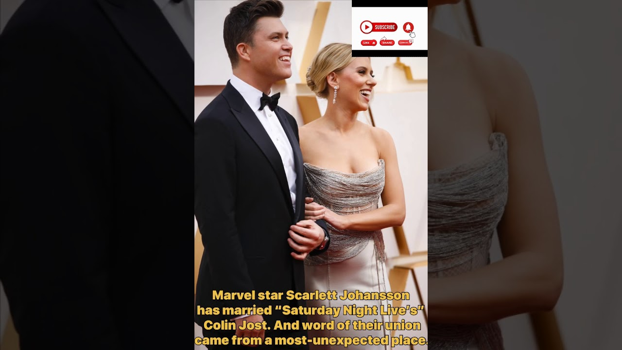Marriage story meets weekend update: Scarlett Johansson, Colin ...