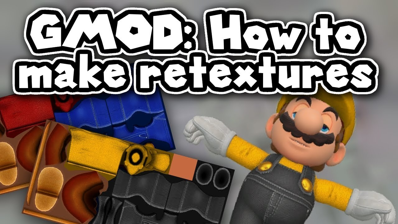 (GMOD TUTORIAL) How to Hex / Retexture models!