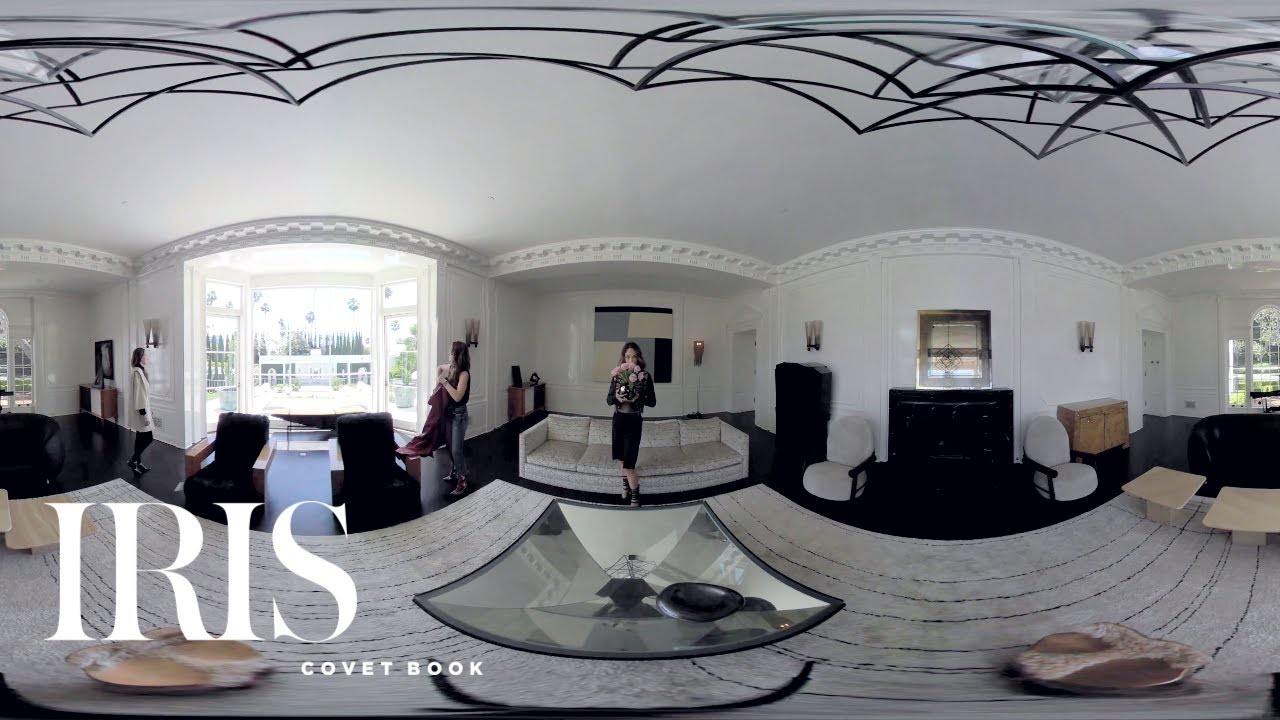 At Home With Interior Designer Kelly Wearstler (360° VR Video) | IRIS COVET  BOOK