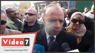 محافظ القاهرة: هدم 61 مدبغة بمنطقة سور مجرى العيون فى المرحلة الثانية
