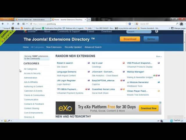 Joomla 3 - Qu'est-ce qu'un composant et où trouver les meilleurs