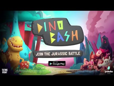 Dino Bash – Dinosaurs vs. Cavemen Defense (Official Launch Trailer)