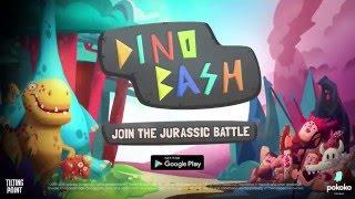 dino bash dinosaurs vs cavemen defense official launch trailer