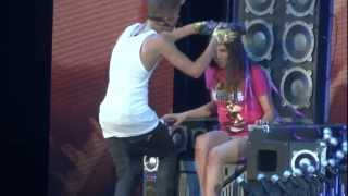 justin Bieber Believe Tour 27/02/13 - One Less Lonely Girl (HD)