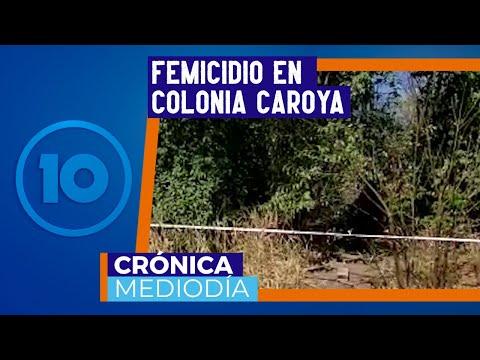 Entrevista comisario Mansilla por femicidio Colonia Caroya