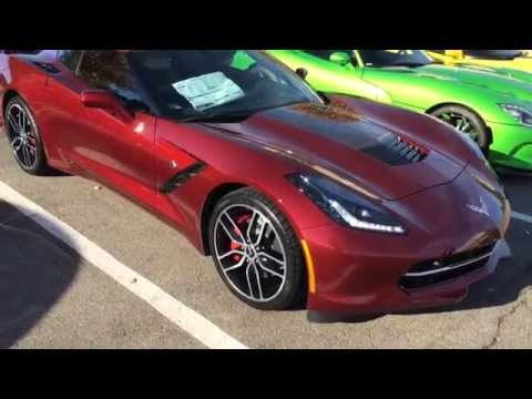 New 2016 C7 Color Long Beach Red! - Do You Like It?