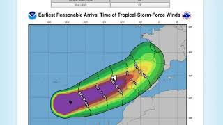 Hurricane Leslie goes to Galicia/ Huracán Leslie va a Galicia 13/10/18