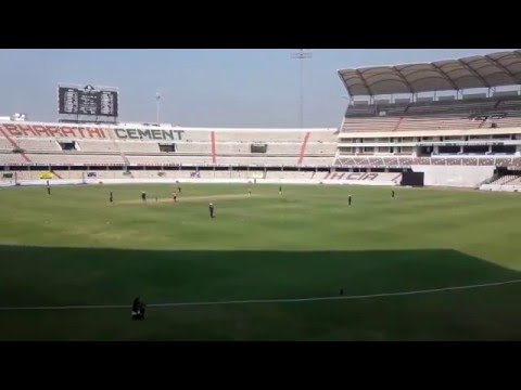Rajiv Gandhi International Cricket Stadium - Uppal, Hyderabad