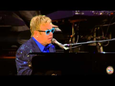 ELTON JOHN - Candle in The Wind (Live at Lucca Summer Festival)