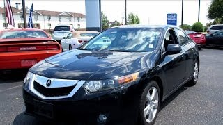 2009 Acura TSX Tech 6-spd Walkaround, Start up, Tour and Overview