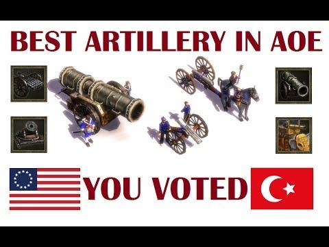 BEST Artillery in Age of Empires III