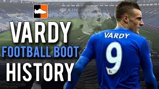 Jamie vardy's 2015-16 football boot history | what boots/cleats does he wear?