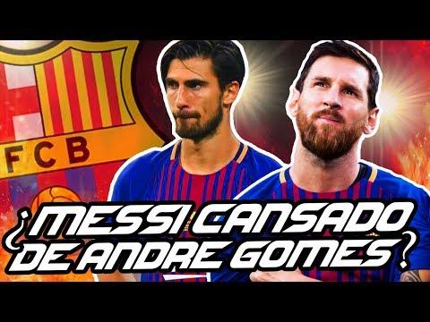 ¿MESSI está CANSADO de ANDRÉ GOMES? | SUÁREZ, un RECORD goleador en BARCELONA
