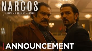 Narcos: Mexico | Announcement: The Story Continues [HD] | Netflix