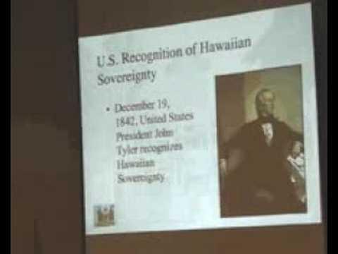 Hawaiis Best Kept Secret - Illegal United States Occupation of Hawaii --Keanu Sai