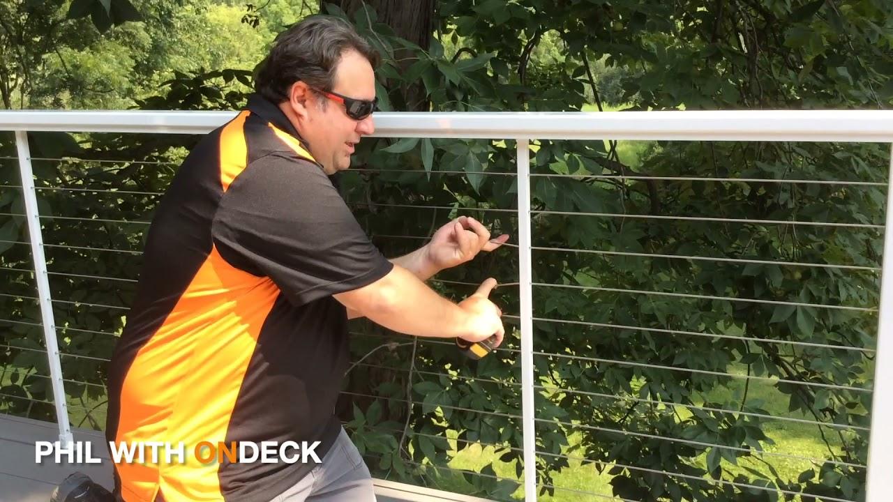 Feeney Cable Railing Installation