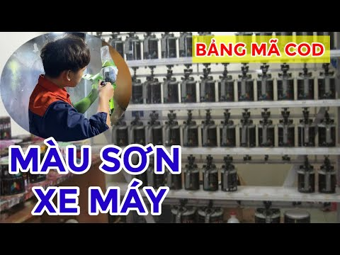 Sơn Xe Sài Gòn Giới Thiệu Một Số Màu Sơn Cho Xe Máy