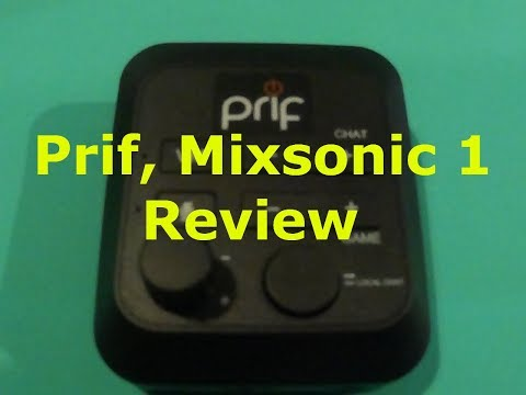 Prif, Mixsonic 1. Review ( up grade your head set on the cheap)