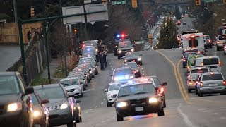 Fallen APD Officer Escorted Back to Abbotsford