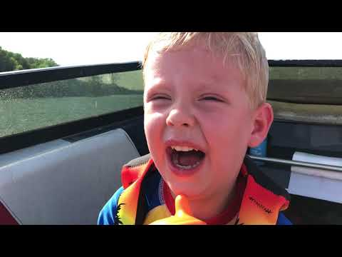 Israel Dillard wasn't very happy his first time on the lake