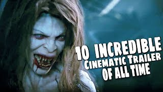 TOP 10 BEST EPIC INCREDIBLE VIDEO GAME TRAILERS  OF ALL TIME (PS4, XB1, PC)
