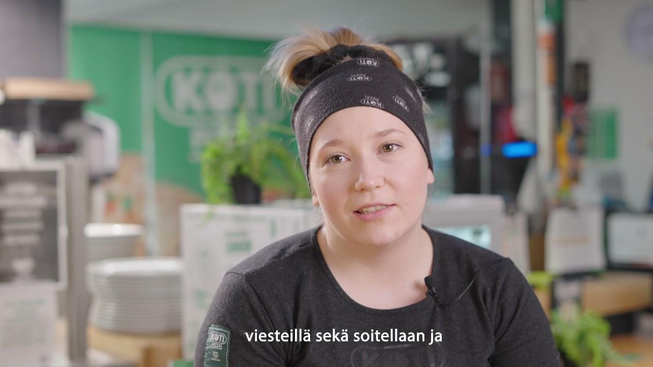 SOL Henkilöstöpalveluiden kautta Kotipizzalle töihin