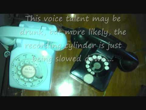 Telephone company intercept recordings #2