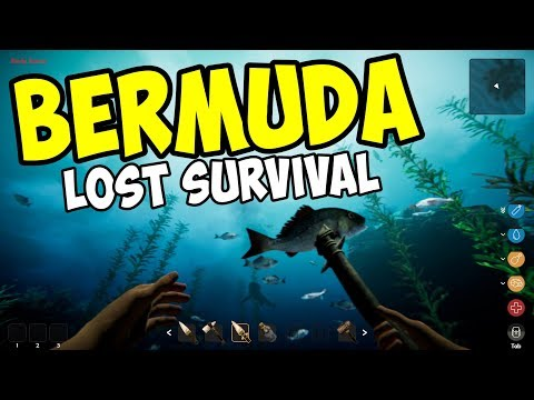 DIVING & SURVIVING in the BERMUDA TRIANGLE - Bermuda Lost Survival Gameplay
