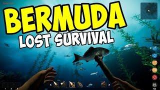 DIVING & SURVIVING in the BERMUDA TRIANGLE - Bermuda Lost Survival Gameplay - Episode 1